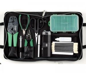 Kit herramientas fibra optica - Completisimo estuche con todo tipo de herramientas para fibra optica.Ref: hrv940