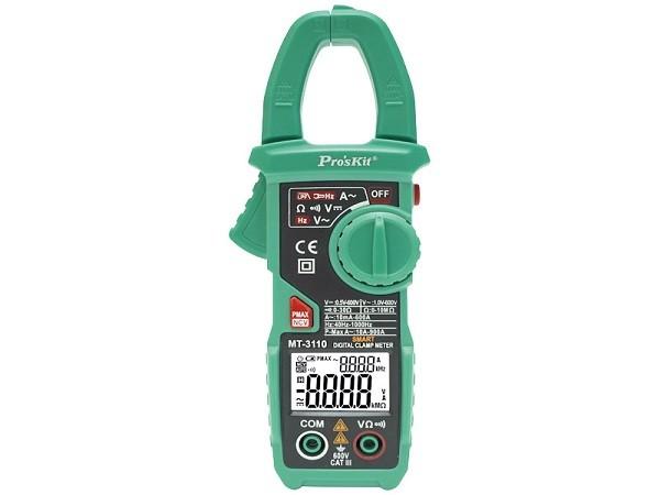 Pinza amperimétrica autorrango 600A AC - Pinza amperimétrica autorrango 600AC.Modelo: MT3110Ref: mul3110