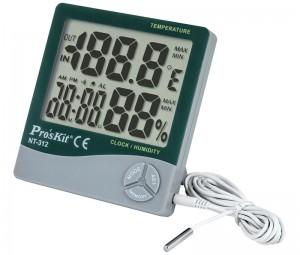 Medidor de temperatura y humedad para interior/exterior - Medidor de temperatura y humedad para interior y exterior Proskit modelo NT-312.Ref: tesnt312