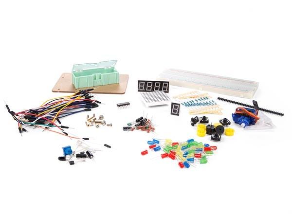 Juego de piezas electrónicas - Juego de piezas electrónicas para Arduino®