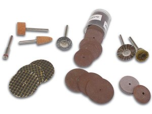 Accesorios taladro y pulido (vthds3) - Juego de 50 unidades de accesorios para taladro.Ref: vthds3