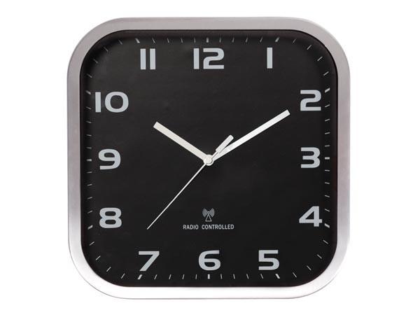 Reloj de pared de aluminio - 27 x 27 cm