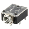 Base 3,5mm estéreo Chasis y C.Impreso - Base 3,5mm estéreo para circuito impreso o chasis.Ref: jc-115