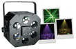 Efecto DMX Led 1 x 9W RGB - Efecto láser multicolor,1 LED de 9 W RGB.Ref: kub-led