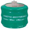Acumulador NIMH 3,6 V 170 mAh - Bateria backup accu 3,6V 170mah Ni-Mh.Ref: nimh-1703
