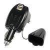 Cargador Doble USB Casa y Coche - Cargador doble HQ para el hogar y el automovil.Ref: p.sup.usb403